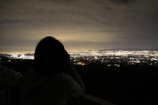 赤城山 夜景パノラマ展望台